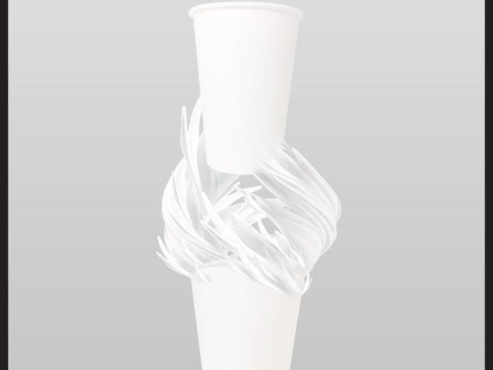 สินค้ามาใหม่ : 10 Oz Single Wall Paper Cup